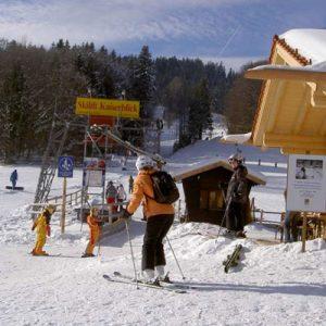 Webcam Skilift Kaiserblick